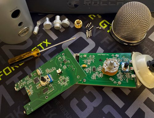 Blue Yeti Починил микрофон 0_0
